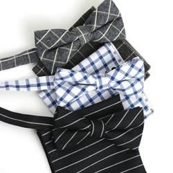 HOOYI набор галстуков бабочка Карманный платок подарок Бабочка для мужские галстуки-бабочки Свадебные Платки мужские хлопок