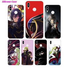 Silicone Phone Case Code Geass Anime for Huawei P Smart 2019 Plus P30 P20 P10 P9 P8 Lite Mate 20 10 Pro Lite Nova 3i Cover цены