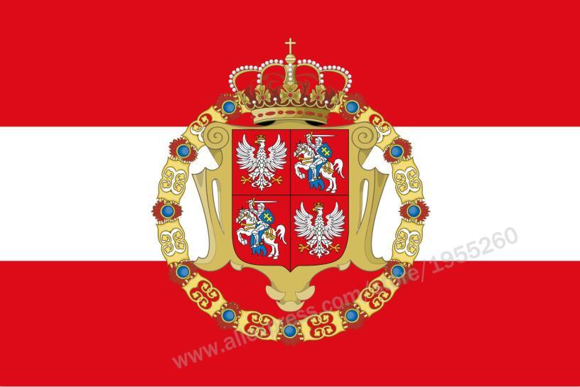 Флаг польского-литового Союза 3x5 футов 90x150 см флаги Польши баннеры