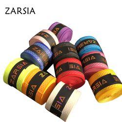 Empuñaduras de tenis de ZARSIA 20 piezas, agarre de raqueta de tenis de punto de presión, agarre de raqueta de Bádminton de sensación seca