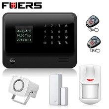 Новый безопасности WI-FI GSM сигнализация Системы S IOS приложение для Android 433 мГц Беспроводной дом Охранной Сигнализации Системы с PIR детектор движения
