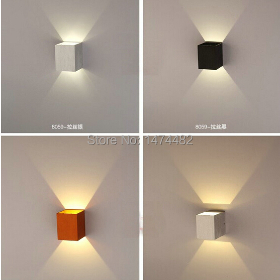 Square Wall Sconce Light Tyresc - Square bathroom sconce