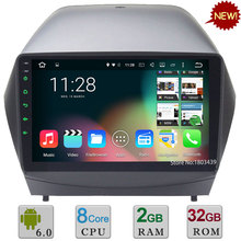9″ Android 6.0.1 Octa Core 2GB RAM 32GB ROM DAB+ RDS WIFI Car DVD Multimedia Radio Stereo GPS For Hyundai IX35 Tucson 2009-2015