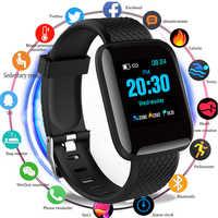 D13 Smartwatch Uomini IP67 Impermeabile Frequenza Cardiaca Tracker Misuratore di Pressione Sanguigna di Ossigeno Sport Intelligente Della Vigilanza Delle Donne Per Android IOS di Apple Del Telefono