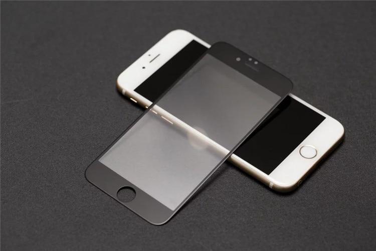 9H 2.5D matowy matowy pełna pokrywa szkło hartowane Screen Protector dla iPhone X XS MAX XR 10 8 7 6s 6 Plus 7Plus anty odciski palców 21