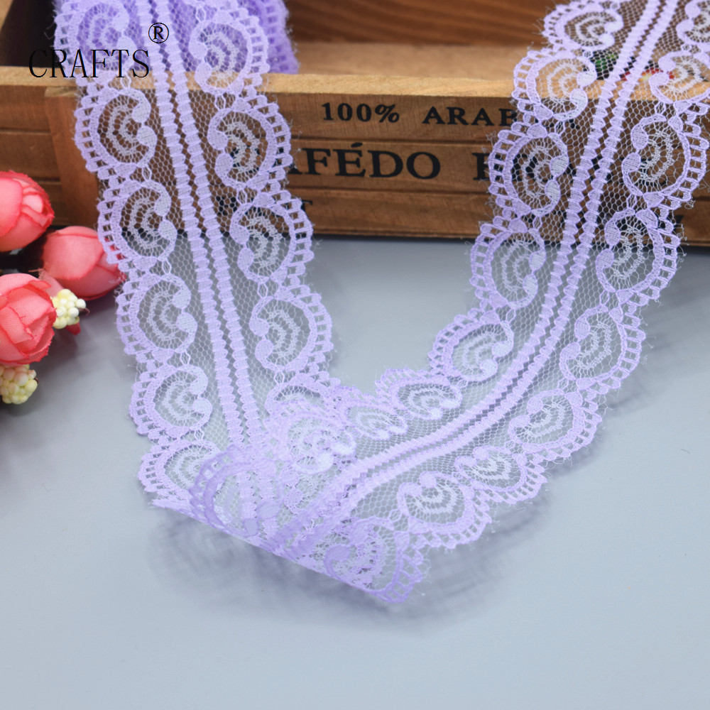 **** LAVENDER LACE 54mm Wide ****
