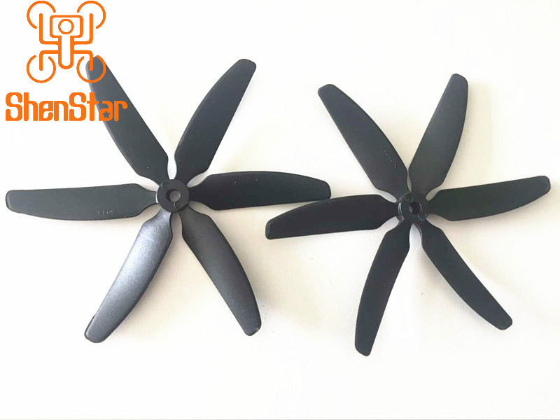 1 Pair 6-leaf Propeller Props CW/CCW For ZMR250 Robocat 250 FPV Racing Quadcopter DIY Aircraft Racer Drone Paddles Accessories