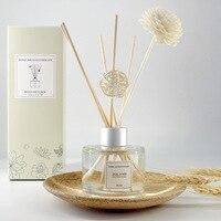 125 ml Óleos Essenciais Perfume Rattan Varas Secas Flor Casa Decoração do Quarto de Banho de Aromaterapia Umidificador Solúvel Em Água