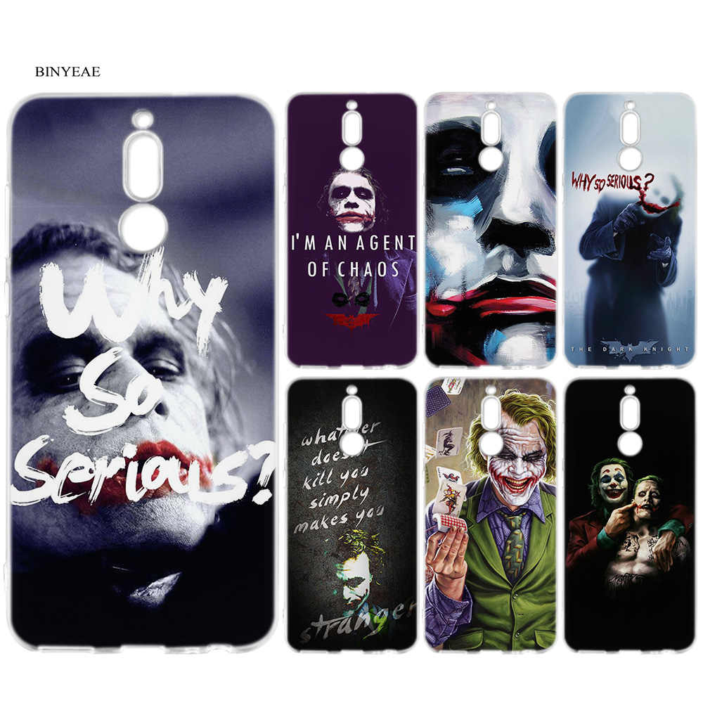 Batman Joker The Dark Knight Cartoon Case for Huawei Mate 10 20 P10 P20 P30 Honor 9 10 Lite Pro P Smart 2019 Cover Coque Shell