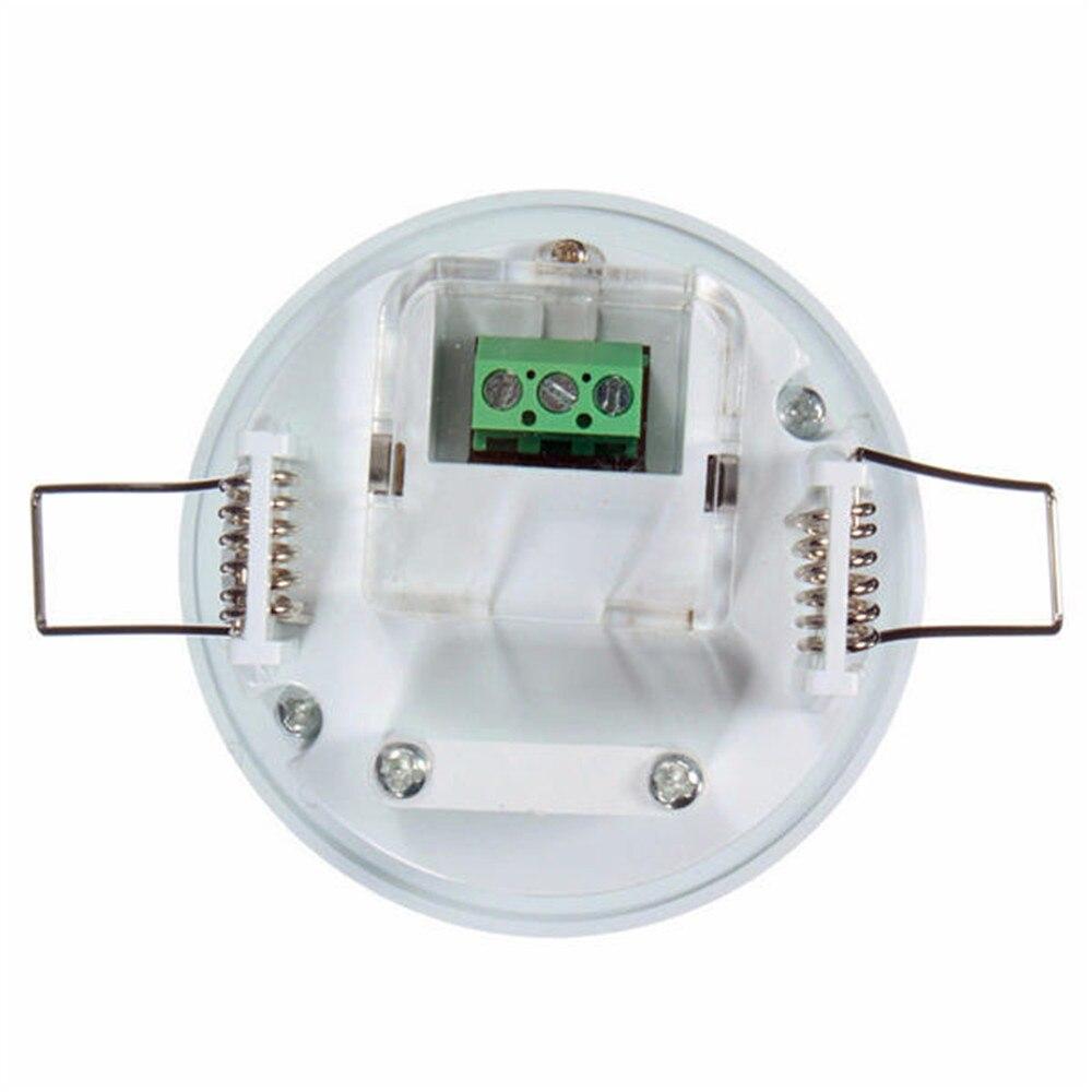 Image 3 - 360 graus mini infravermelho pir detecção ir parede teto recessed  sensor de movimento detector interruptor de luz automáticaSensor e  detector