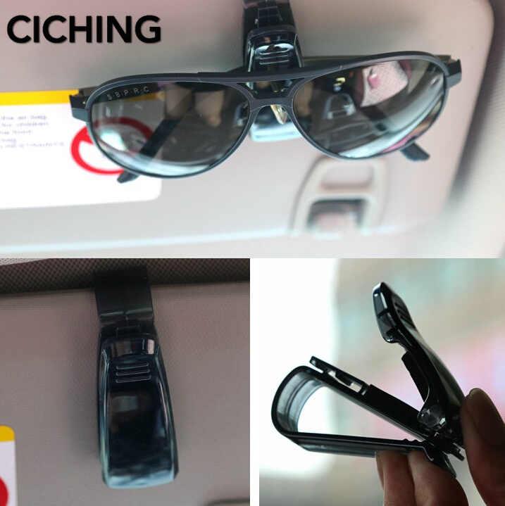 سيارة الشمس قناع نظارات حامل كليب ل داسيا المنفضة w203 مرسيدس فولفو xc60 الثقاب w211 رينو ميجان بيجو 508
