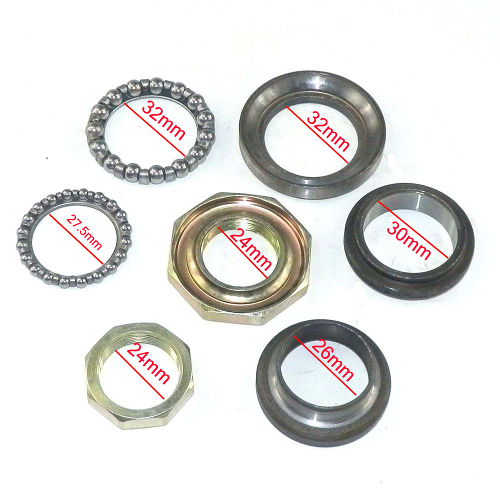 Steering Head Stem Bearings For Baron Retro Scooter Lance Vintage 150cc ZN150T-E