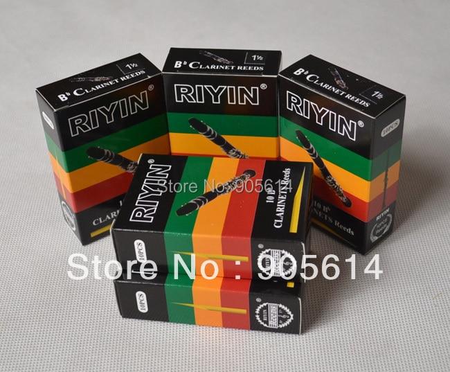 "5 kasser Klarinet Reeds Reed Brand ""RIYIN"" NEW Strenght # 1.5"
