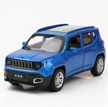 1:32 Toy Car Jeep Renegad Metal Toy Alloy Car Diecasts & Toy Vehicles Car Model Miniature Scale Model Car Toy For Children
