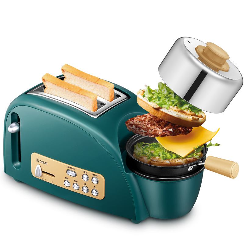 Donlim toaster home Mini multifunctional automatic spit driver cooking egg steaming oven toaster breakfast machine 2