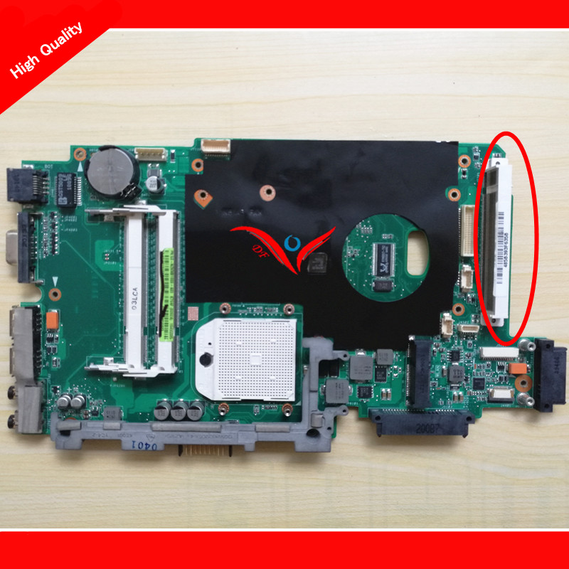 ФОТО K70AF K51AB Motherboard Rev2.3 Fit for asus K70AF K51AB Notebook PC systemboard,  100% WORKING