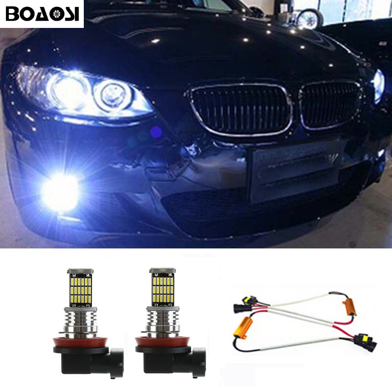 For BMW X3 E83 H7 H7 H11 501 100w Super White Xenon High//Low//Fog//Side Bulbs