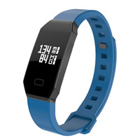 NBS01 Smart Bracelet Fitness Tracker Step Counter Activity Monitor Band Alarm Clock Vibration Wristband For Iphone