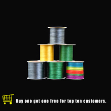Topline Tackle Fishing Line 4Braided 0.1mm 0.5mm Diameter Multifilament 4 Wire 100m 300m PE