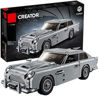 Legoings Technic 10262 Aston Martin car DB5 Figures Building Blocks Model Set Figures Toys Gifts For Kids brinquedos tamiya