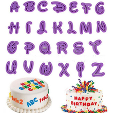 26 Englisch Briefe kuchen dekoration formen kunststoffformen für segnen wünsche für geburtstag kuchen machen