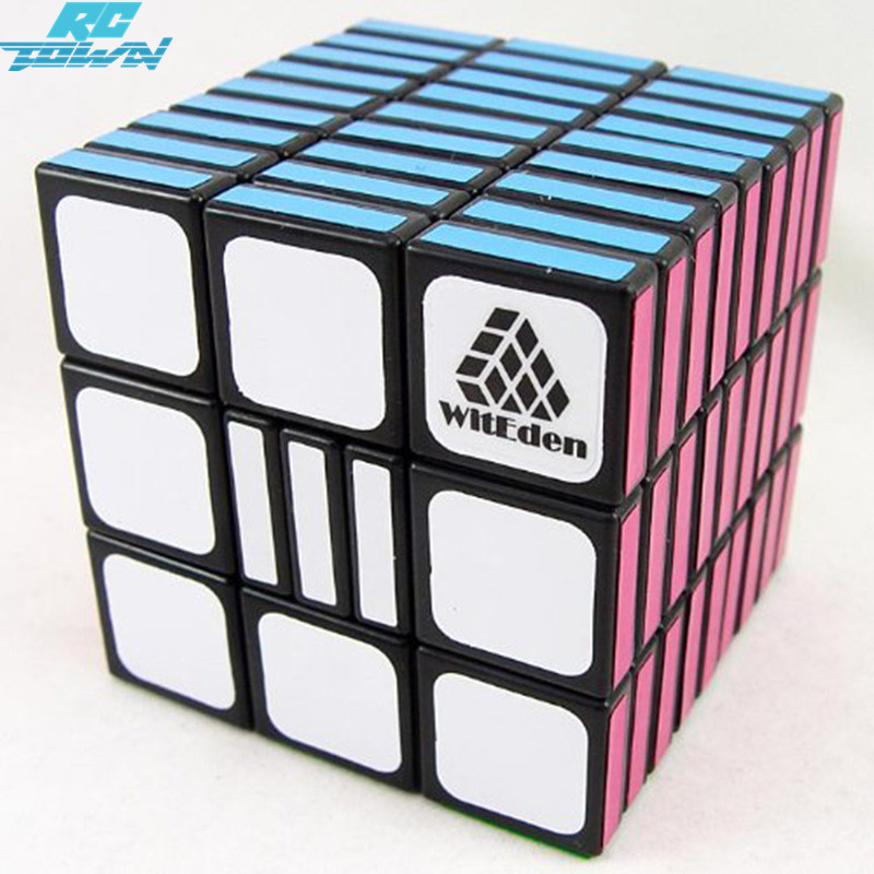 RCtown 3x3x9 Professional Speed Puzzle Cubes Cubo Magico Brain Teaser IQ Fully Functional Magic Cube Toys For Childrenzk25 diy 3x3x3 brain teaser magic iq cube complete kit black