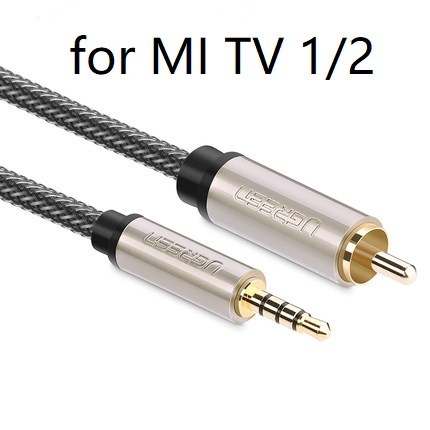 Computer Cables 1 Pcs Gold Plated AV Audio Splitter Plug RCA Adapter 1 Male to 2 Female Audio Cable Adapters Sep24 Cable Length: as Shown