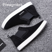 Phragmites Simple Designer Shoes Women 2019 Woman Short Boots High Quality Flat Botas Mujer Big Szie #48