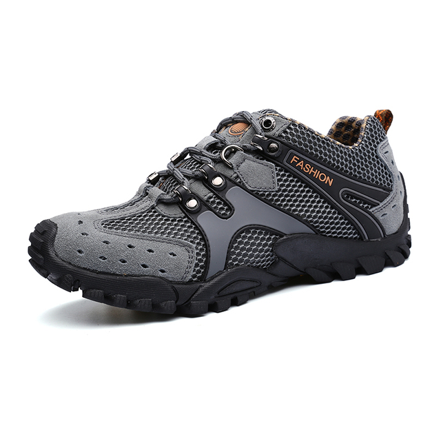 2016 Best Hiking Boots For Men Anti-Slip Outdoor Boots Men Summer/Autumn Male Walking Shoes Lightweight Trekking Shoes Men