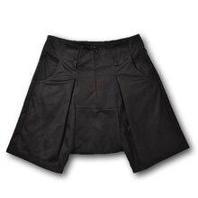 Low Haren Sexy Shorts Mens Homens Pop Culottes Fog Shorts Men Cargo Brand Clothing Casual Summer Shorts Hip Hop Punk Rock Dance