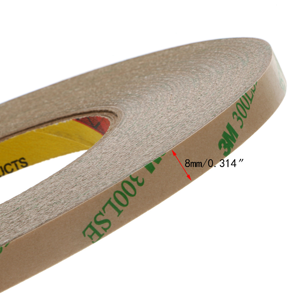 Vinyl siding repair tape - 8mm Super Slim Strong Adhesion 3m 300lse Clear Double Sided Sticky Tape For Cell Phone