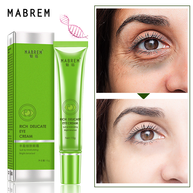 MABREM Rich And Delicate Eye Cream Anti Wrinkle anti aging Peptide Collagen Repair Remover Dark Circles