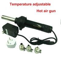 8032 Yeni Taşınabilir El Sıcak HAVA Tabancası isı gun Desoldering Lehimleme Aracı Istasyonu 220 V AC 420 W