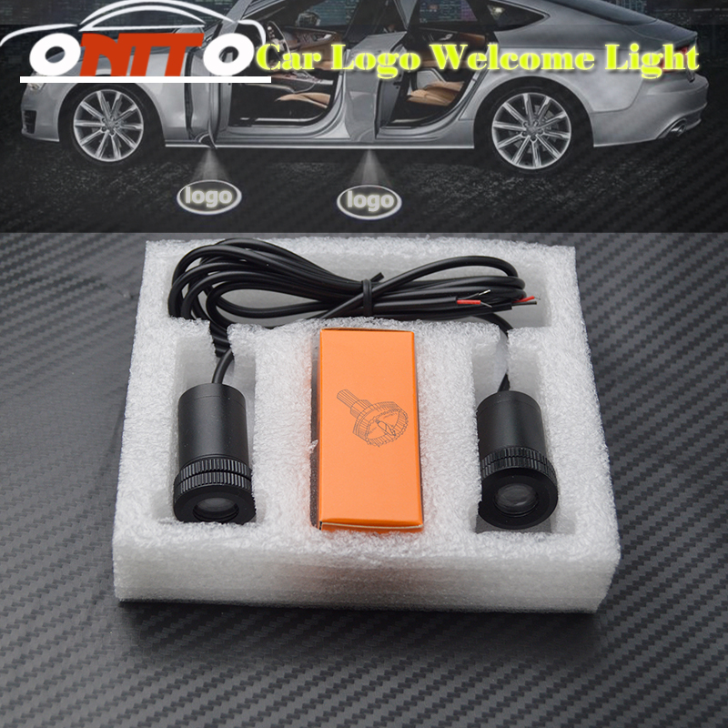 12V 10W LED Car Led Ghost Shadow Light Car Logo Led Car Door Projector Welcome Lights For VW Audi Bmw Jeep Nissan Toyota