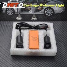 12v 10w led carro fantasma sombra luz logotipo do carro led porta do carro projetor luzes de boas-vindas para vw audi bmw jeep nissan toyota