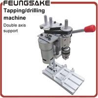 Tapping Machine Mini Drilling Machine Bench Machine Table Bit Drilling Chuck B12 10mm Clamp Range For