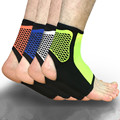 010609 Sports Ankle Support Ankle Pads Elastic Brace Guard Foot Ankles Protector Wrap For Bicycle Football Taekwondo Basketball