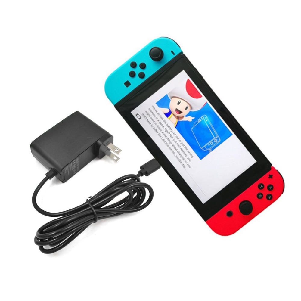 Fast Charge 12W AC Adapter For Nintend Switch Game Console Power Charger Type-C Interface Switch Power Supply US Plug