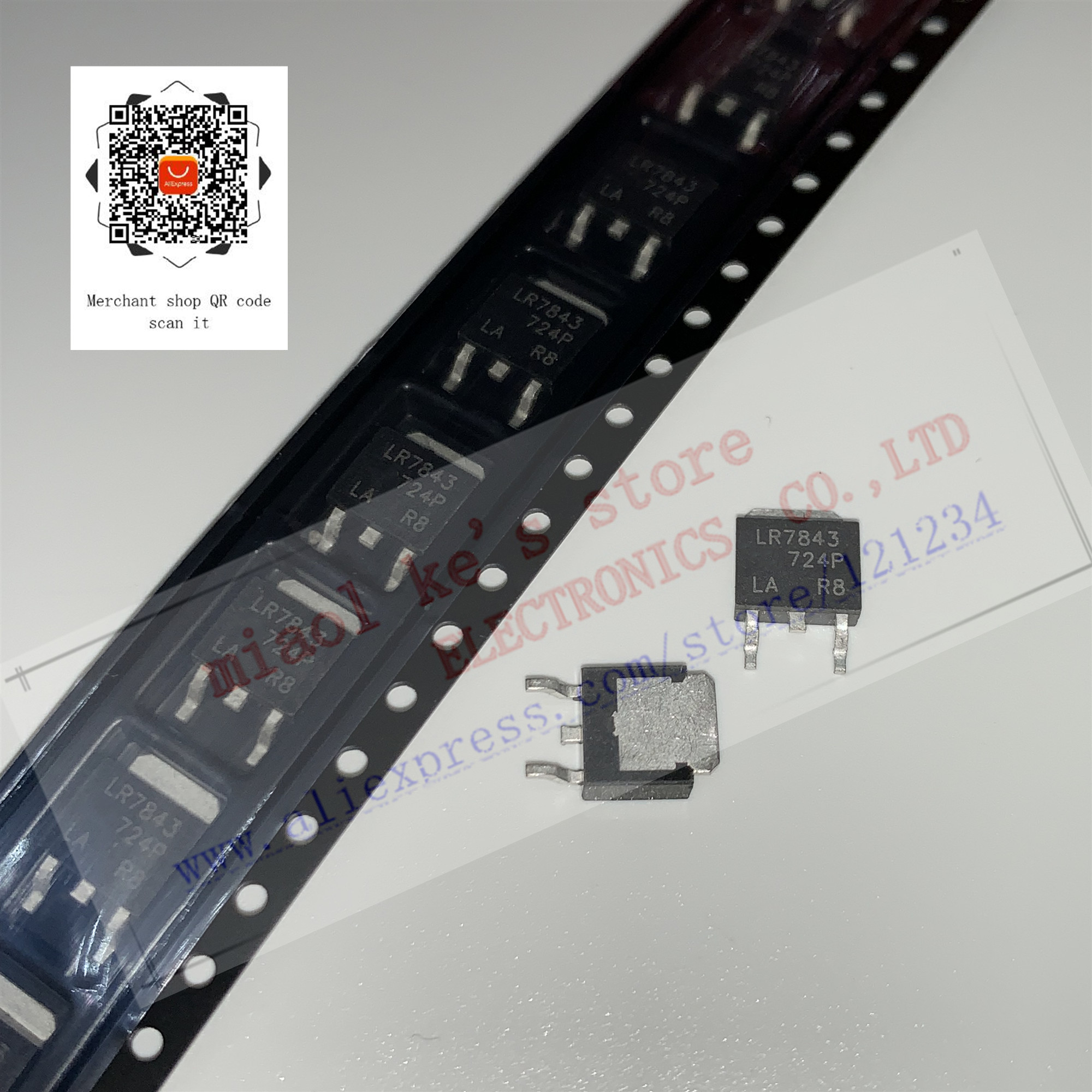 TO-252 Power Mosfet IRLR7843 5Pcs Hexfet LR7843 New Ic my