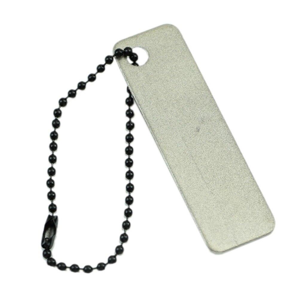 Открытый инструмент простой мини-супер-жесткий алмаз точилка Заточка точильный камень Безопасности и Выживания