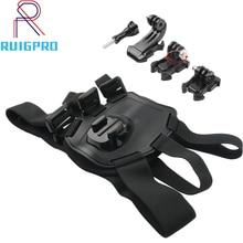 Ruigpro Fetch Dog Harness Chest Strap for GoPro Hero 7 5 6 4 Session SJCAM SJ4000 Xiao mi Yi 4K Action Camera Go Pro Accessory