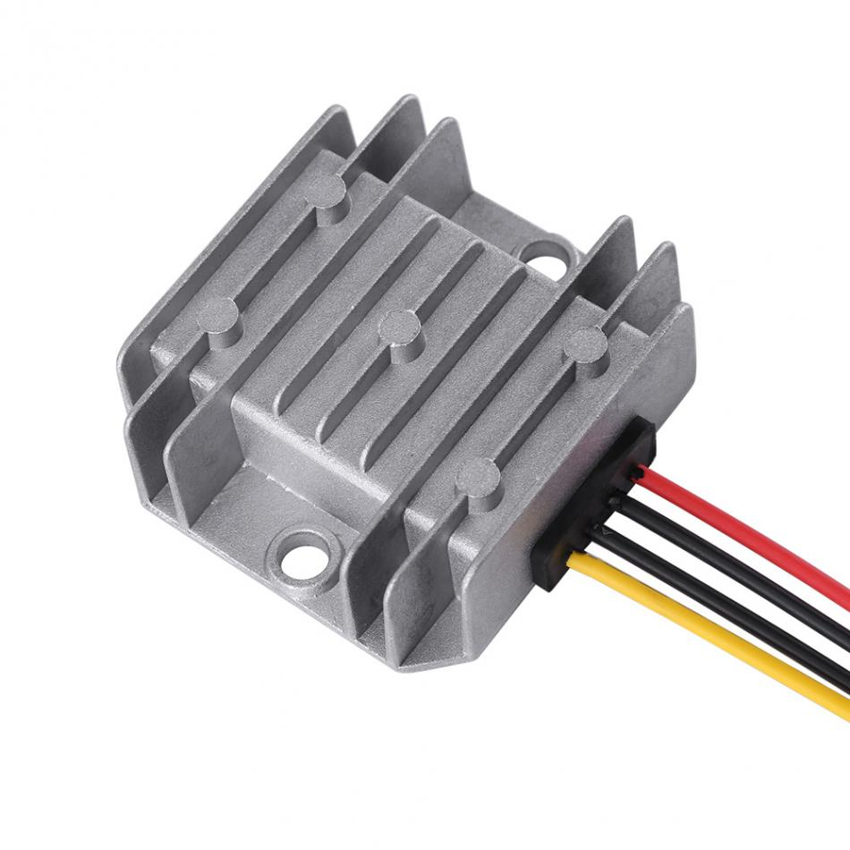 DC-DC 12V/24V To 5V 5A 25W Voltage Step Down Module Buck Power Supply Converter for Car Vehicle