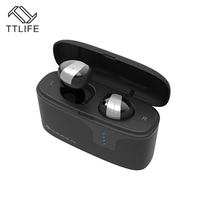 TTLIFE Mini Bluetooth Earphone S2 Wireless Sports Mobile Headset Music Stereo Headphones With Charging Box For