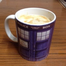 Doctor Who Police Box Mug