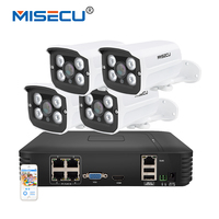 New Arrival 4CH CCTV System NVR Kit 720P HDMI 4PCS 1 0mp IR Vandalproof Outdoor POE