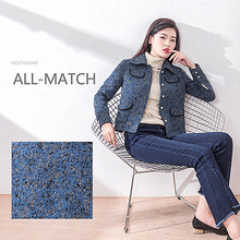 Womens 2018 Autumn And Winter Thickening New Small Fragrance Style Fashion Short Woolen Coat Female