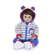 Newest Simulation Silicone Reborn Dolls So Truly Like Newborn Babies Doll For Boy Or Girl Kid Birthday Gifts Soft Vinyl Play Toy