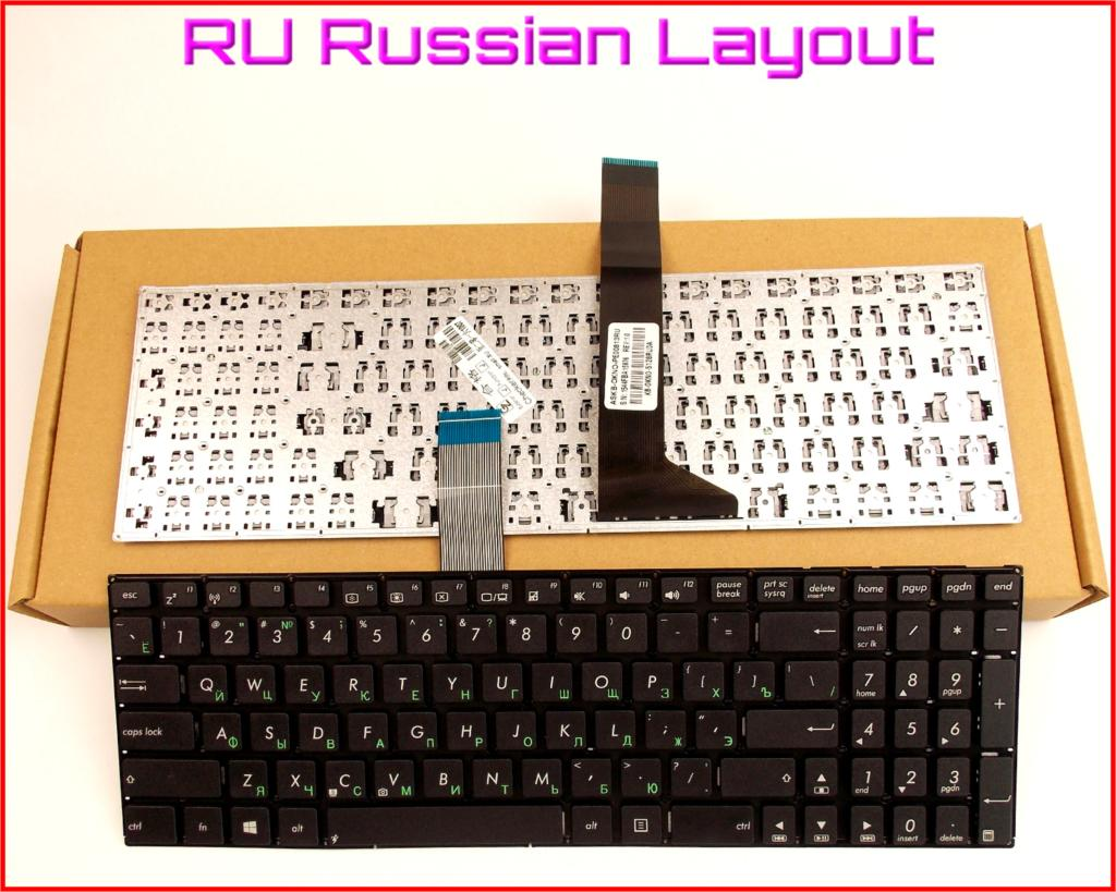 New Keyboard RU Russian Version for ASUS X550V X550VC X550CL X550CC X550C X550 X550CA X500D R510JK Laptop No Frame
