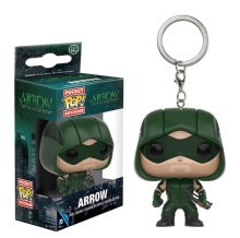 New Pocket  POP The Green Arrow Action Figure Collectible Model Toy Arrow Keychain Toys Figure Gift for Children Kids