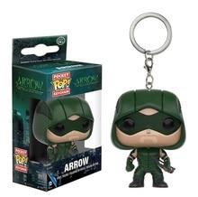 ใหม่กระเป๋าPOPลูกศรสีเขียวAction Figureของเล่นสะสมArrowพวงกุญแจของเล่นรูปของขวัญเด็ก